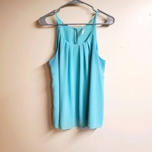 DNA Couture Mint Green Strapless Blouse